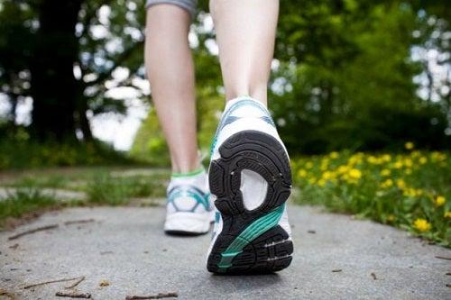 accélérer le métabolisme avec de la marche