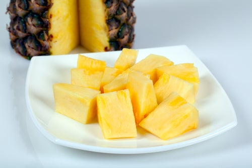 L'ananas pour les reins.