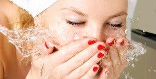 Se laver le visage