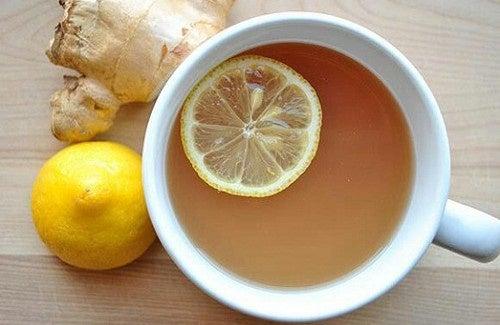 Perdre du poids grâce au citron et au gingembre