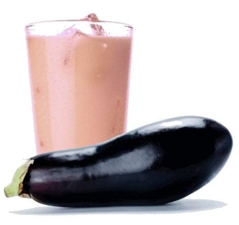 L'eau d'aubergine pour le poids.