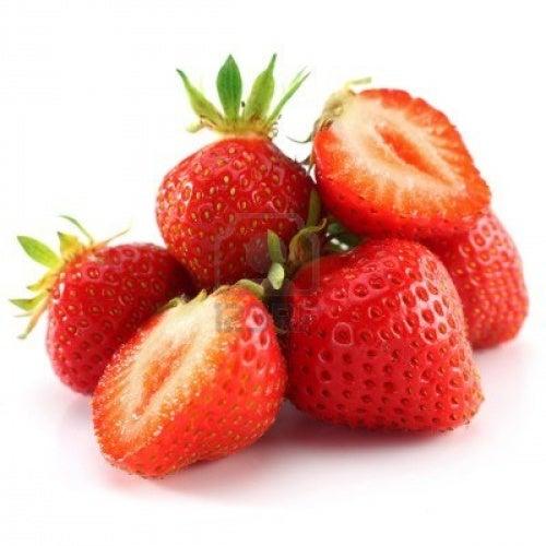 fraises, acide urique