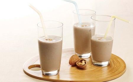 lait et noix