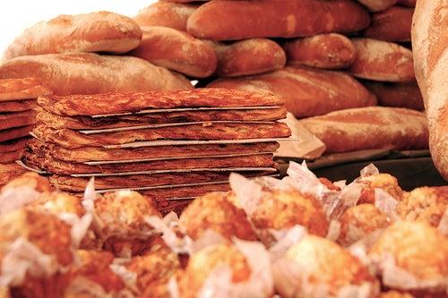 Les farines du pain.