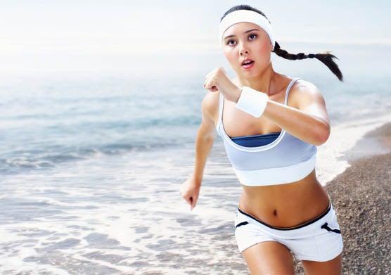 Sport pour combattre la rétention d'eau