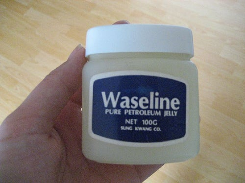 photo d'un pot de vaseline