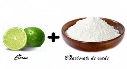 Une cure de bicarbonate de sodium et de citron apporte des bienfaits à l'organisme