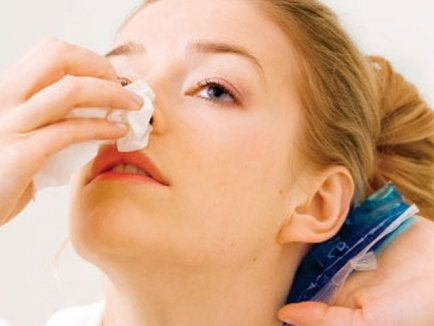 comment arrêter les saignement de nez