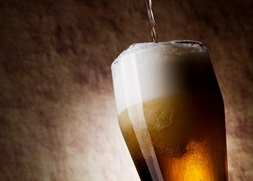 La bière pour les fibres.