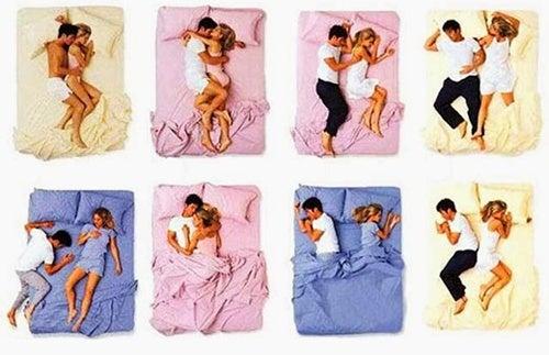 Les positions durant le sommeil qui en disent long sur votre couple