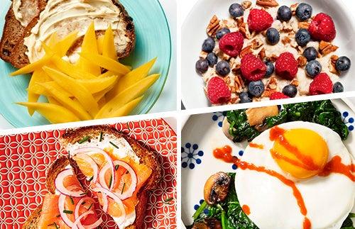 8 petits déjeuners qui vous aideront à perdre du poids