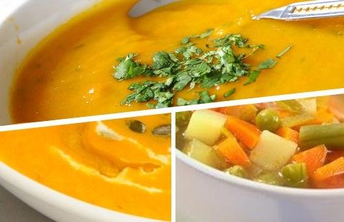 Velouté de légumes : un plat qui fait maigrir