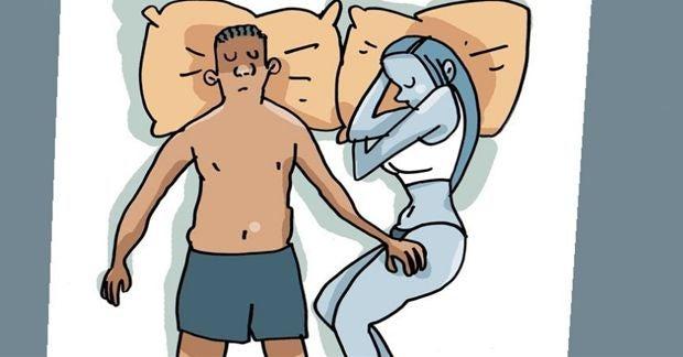 positions durant le sommeil 7