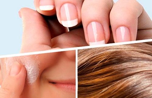 Les aliments qui prennent soin des cheveux, de la peau et des ongles
