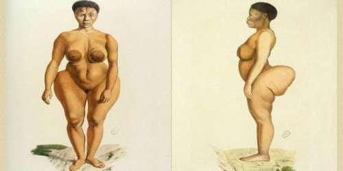 La triste histoire de la femme exposée pour ses fesses