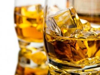 L'alcool en soirée.