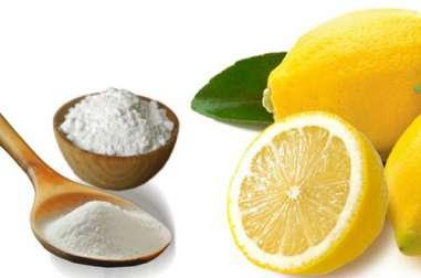 Remède au bicarbonate et au citron