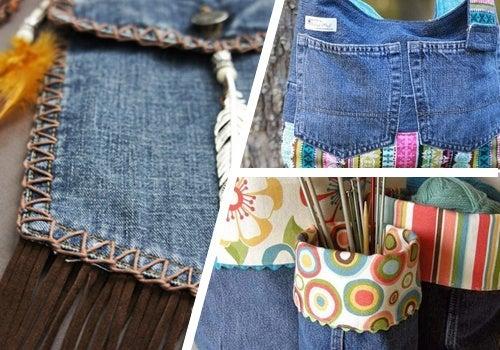 9 manières de recycler les vieux jeans