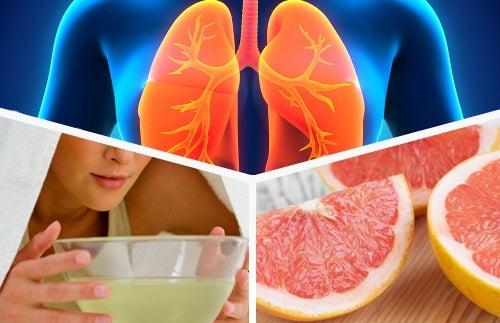 Aliment detoxifiant pour le foie, Aliment detoxifiant poumon