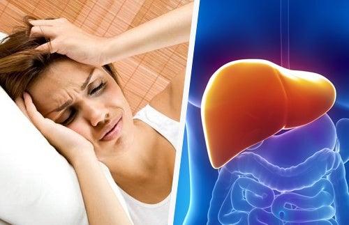 Le lien entre les maux de tête et le foie