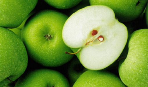 jus de pommes vertes pour éliminer les ronflements