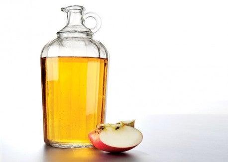 Du vinaigre de pomme pour mincir.