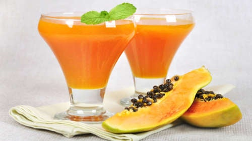 smoothies papaye et camomille contre le syndrome de l'intestin irritable
