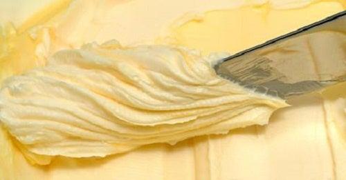 Beurre maison avec seulement deux ingrédients