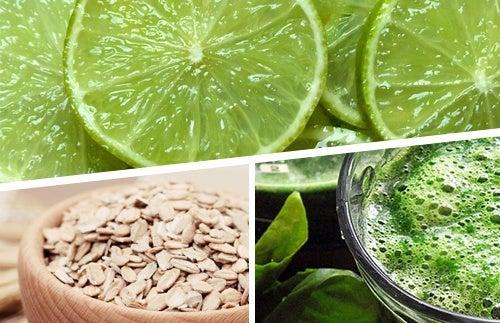 Perdre du poids avec trois aliments : le citron, l'avoine et la spiruline