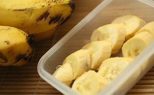 la banane pour combattre la rétention d'eau