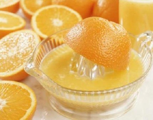 Orange pressées