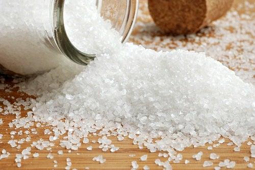arrêter une migraine immédiatement grâce au sel