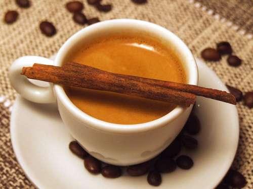 recettes à base de café et cannelle