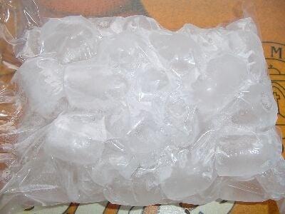 La glace contre les douleurs nocturnes.