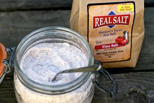 recette avec du sel marin