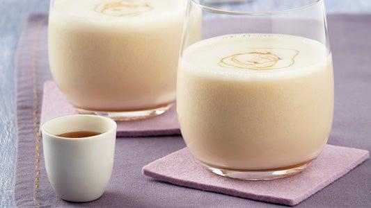 smoothie-d'avoine-de-banane-et-de-miel-recette-maison