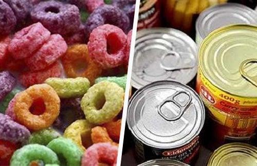 Aliments-transformés