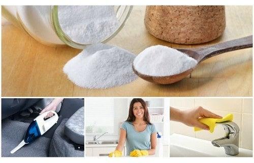 6 usages étonnants du bicarbonate de soude dans votre foyer !