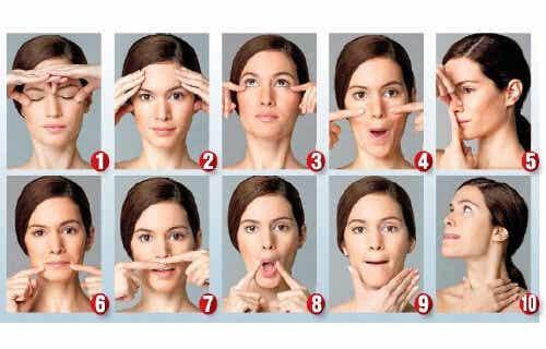 Faire de la gymnastique faciale pour paraître plus jeune