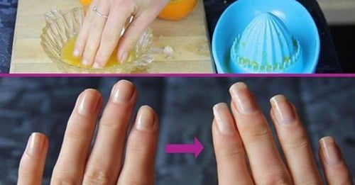 Conseils pour renforcer les ongles.