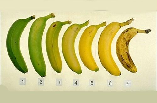Est-il plus sain de manger des bananes mûres ?