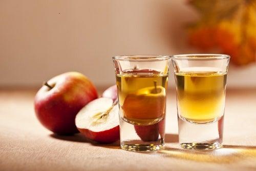Vinaigre de pomme pour les canalisations.