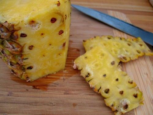 L'ananas fait partie des analgésiques naturels très puissants.