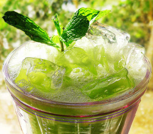eau au concombre