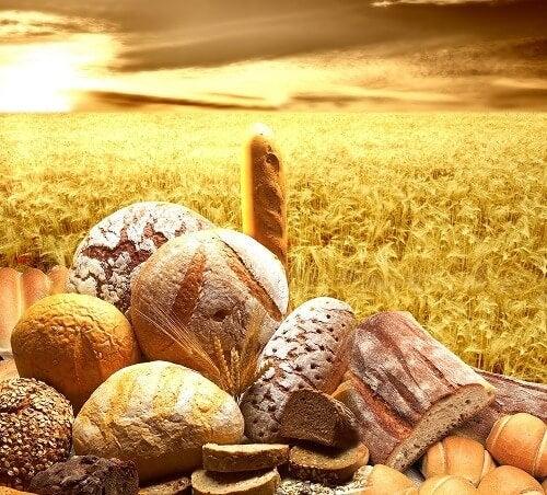 Le gluten avant l'été.