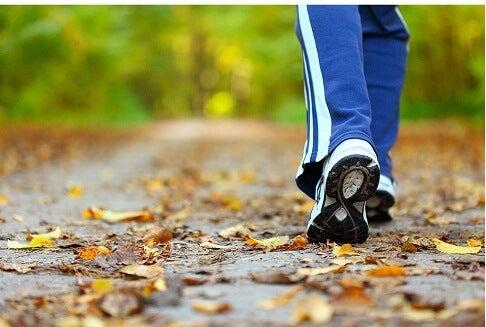 20 minutes de marche par jour