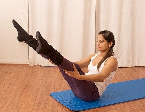 L'idée de l'exercice de gainage est de maintenir la même position le plus longtemps possible.