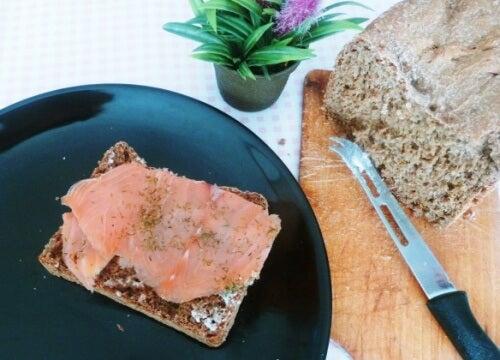 meilleur pain pour perdre du poids : pain de seigle
