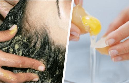 Découvrez comment vous laver les cheveux avec du jaune d'oeuf