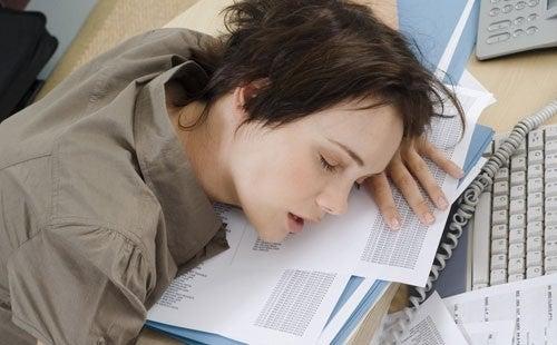 des horaires de sommeil irréguliers